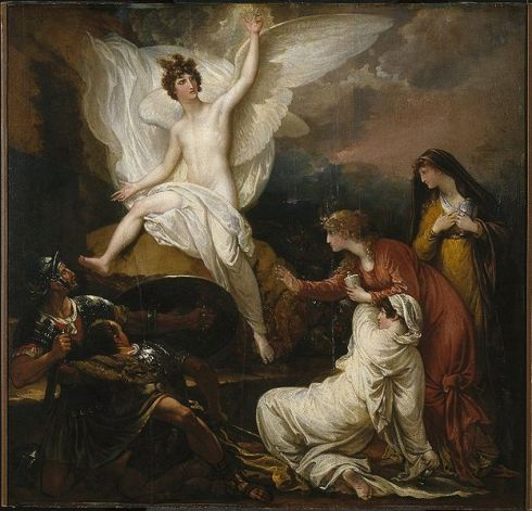 623px-Brooklyn_Museum_-_The_Women_at_the_Sepulchre_(The_Angel_at_the_Tomb_of_Christ)_-_Benjamin_West_-_overall