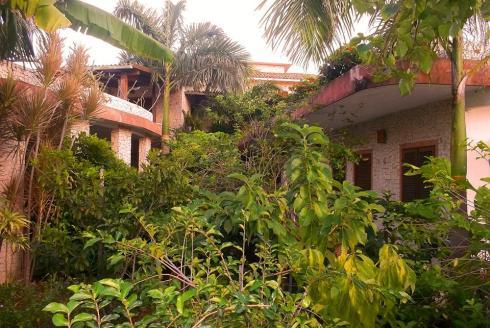 jardim da mansão