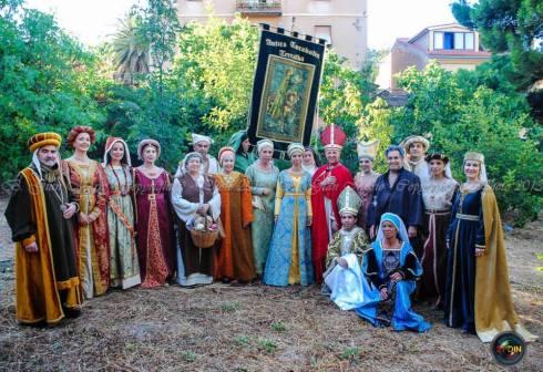alguns participantes do evento em terralba