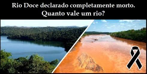 rio doce complementamente morto