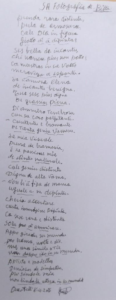 2_Componimento poetico di tziu Gasparru data