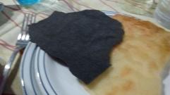 pão de carvão
